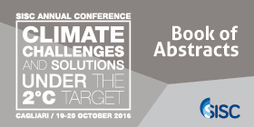 Book of Abstract 2016 Science Symposium on Climate change