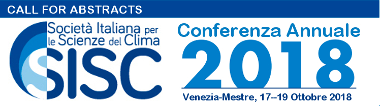 Conferenza Annuale SISC 2018 - Call for Abstracts